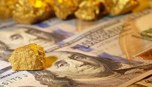 Đầu tuần, giá vàng chững lại, USD lao dốc. ảnh minh hoạ