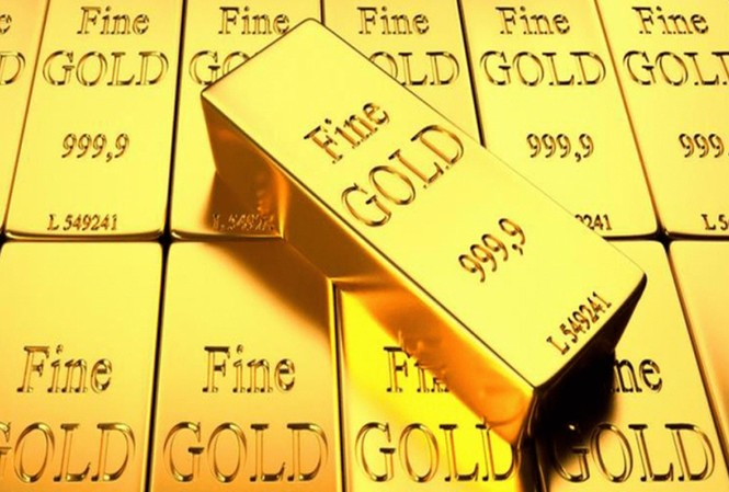 Giá vàng giảm gần 1 triệu đồng/lượng. Ảnh minh hoạ