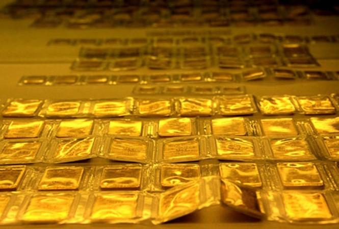 Cuối tuần, vàng bất ngờ quay đầu giảm giá. ảnh minh hoạ