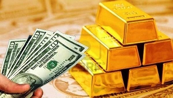 Giá vàng tăng gần 1 triệu đồng/lượng. ảnh minh hoạ