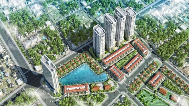 """Những dự án BĐS chất lượng cao sẽ được giới thiệu tới các khách hàng trong """"Top 3 dự án đáng sống nhất cho gia đình trẻ Hà Nội"""". Ảnh: FLC Garden City."""