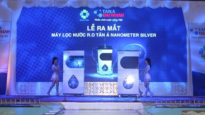 Tân Á Đại Thành ra mắt sản phẩm Máy lọc nước R.O Tân Á Nanometer Silver tại hội thảo Hải Dương