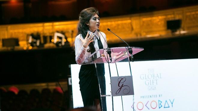 Nữ doanh nhân trẻ Coco Trần tại sự kiện nhân ái toàn cầu The Global Gift Gala