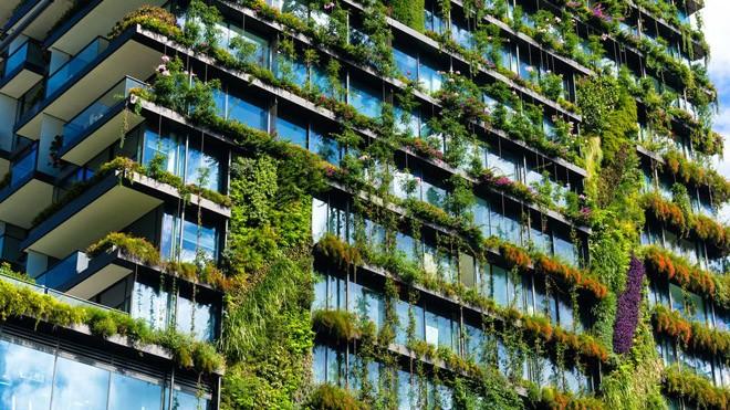Xây dựng công trình xanh là sự phát triển đột phá trong tương lai