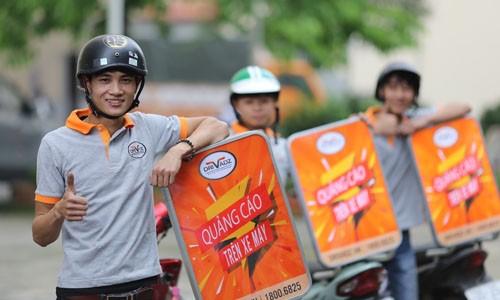 Startup Việt giúp người đi xe máy 'sinh lời' trên phố