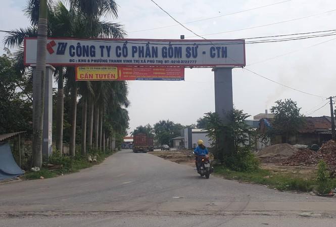 Cty CP gốm sứ Thanh Hà.