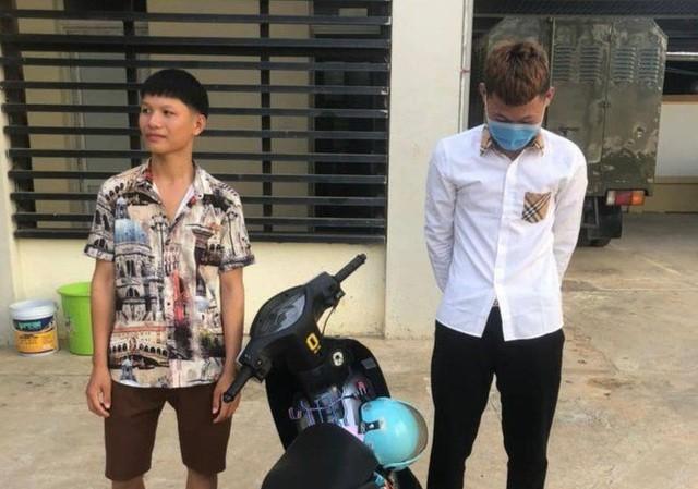 Hai nam thanh niên bị Công an triệu tập.