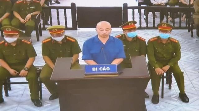 Nguyễn Xuân Đường bị tuyên xử 30 tháng tù giam - Ảnh: Hoàng Long