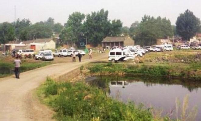 Huyện Lỗ Sơn, nơi xảy ra vụ tấn công. Ảnh: South China Morning Post.