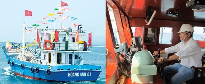 Tàu cá vỏ thép đầu tiên được bàn giao cho ngư dân