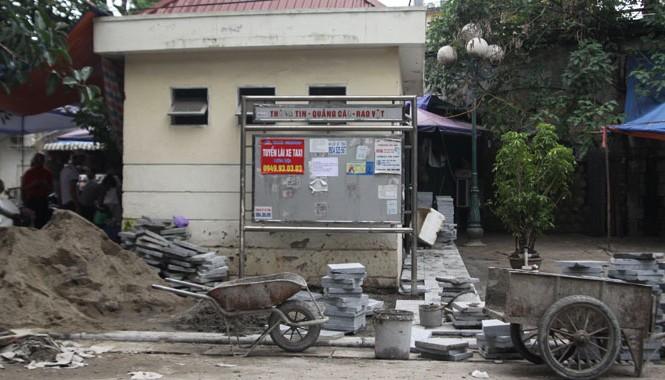 Bảng quảng cáo miễn phí ở phố Trần Hưng