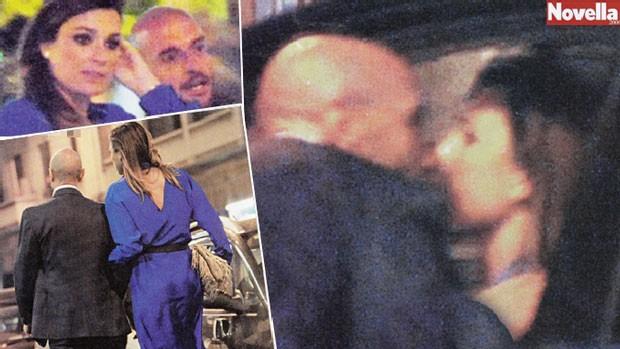 Seredova cặp kè với trai lạ trong lúc Buffon vật vã vì chấn thương