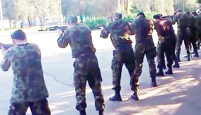 Một đội quân tư nhân ở Ukraine