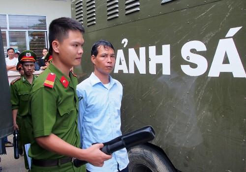 Vinh bị tuyên phạt 5 năm tù. Ảnh: Nguyễn Đông