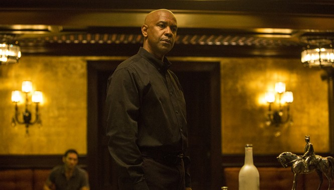 """Denzel Washington trong phim mới nhất """"Thiện ác đối đầu"""""""