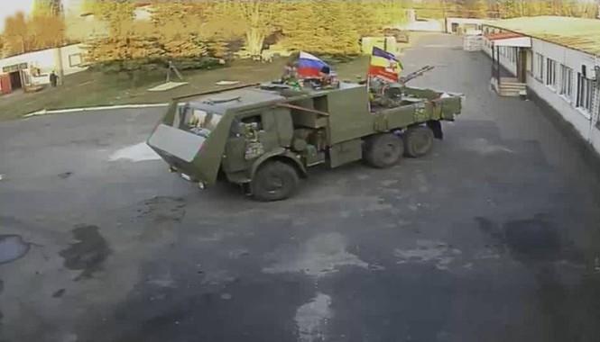 Cyber Troops tấn công camera CCTV và giám sát sự chuyển quân của phe ly khai ở miền đông Ukraine.