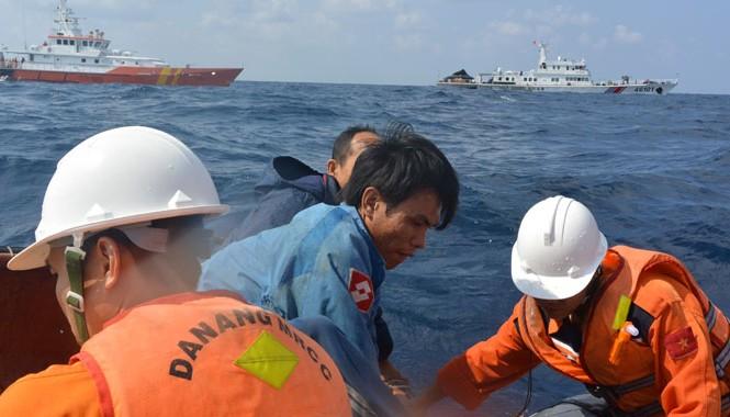 Triển khai cứu nạn trên biển