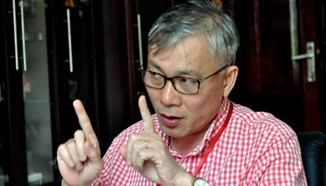 Hiệu trưởng ĐH Y Hà Nội cho rằng tuyển sinh là phải công bằng, không thể nói rằng học sinh thi đạt giải nhì, ba môn Sinh thì vất vả hơn học sinh thi đại học được 27-28 điểm. Ảnh: HT.
