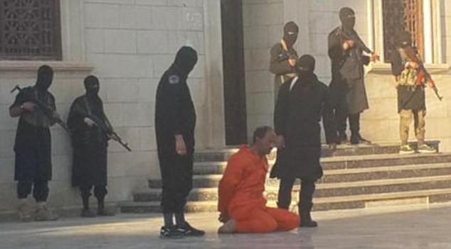 Abdulnabi Shurgawi trước giờ hành quyết. Ảnh: Daily Mail.