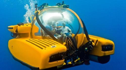 Một tàu ngầm của công ty Triton. Ảnh: BBC.