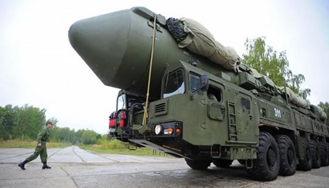 Hệ thống tên lửa di động Nga.
