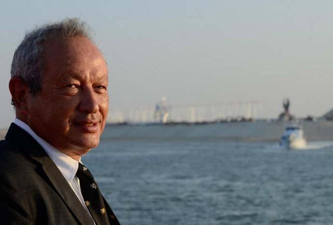 Tỷ phú Naguib Sawiris. Ảnh: Twitter.