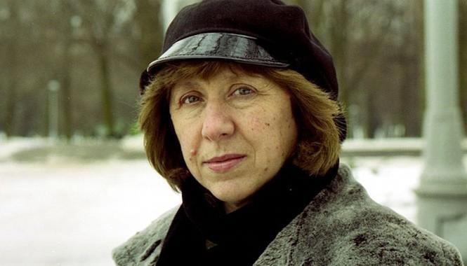 Chân dung nhà văn Svetlana Alexievich. Ảnh: Vasily Fedosenko.