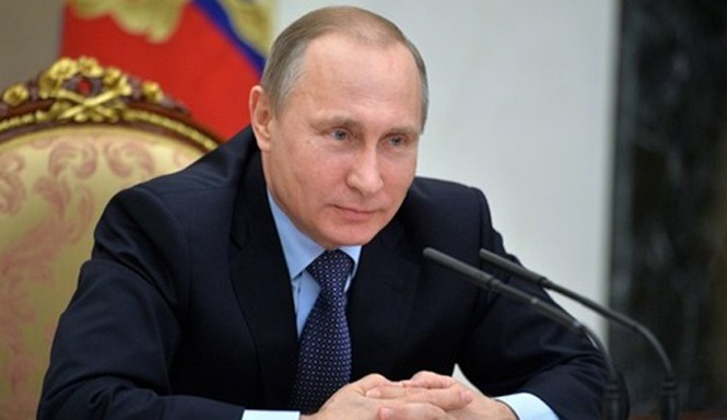 Tổng thống Nga Vladimir Putin. Ảnh: Reuters.
