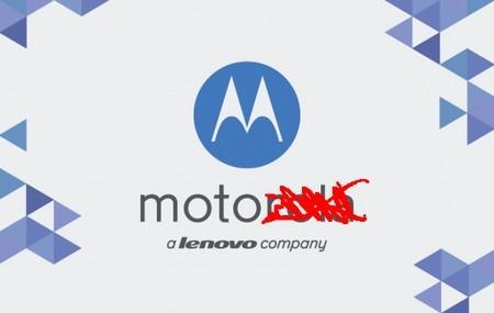 """Thương hiệu Motorola bị thay thế bằng thương hiệu """"Moto by Lenovo""""."""