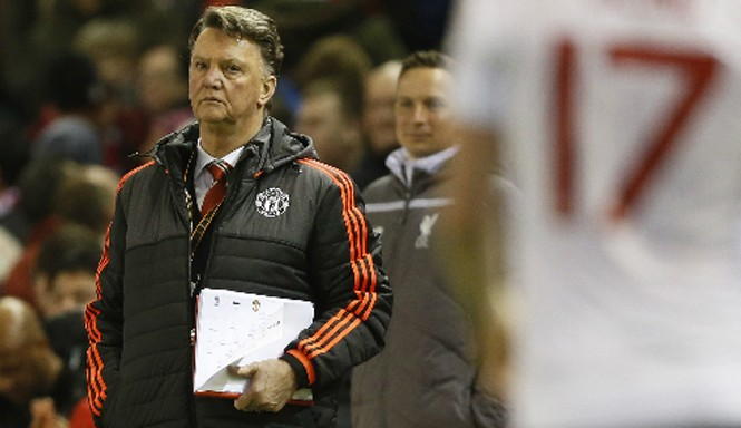 Man Utd của Van Gaal lần đầu để thua Liverpool. Ảnh: Reuters.