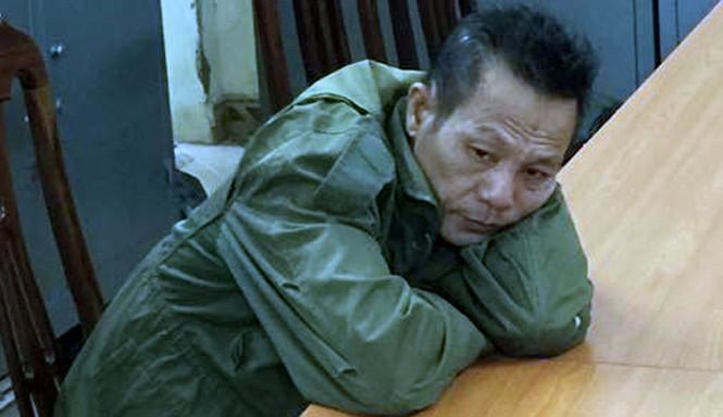 Nguyễn Văn Kỳ thời điểm mới bị bắt giữ.