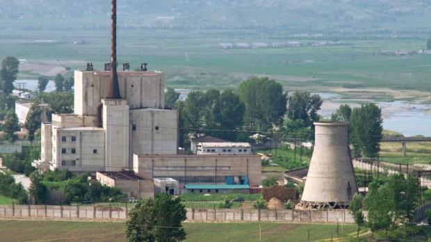 Cơ sở hạt nhân Yongbyon của Triều Tiên. Ảnh: Kyodo.