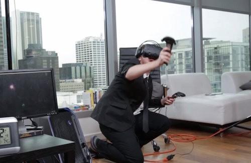 Derek Westerman đã trải qua 25 giờ liên tục dùng HTC Vive.