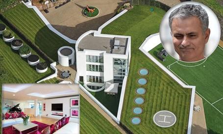 HLV Mourinho sắp sở hữu căn biệt thự ở Cheshire.