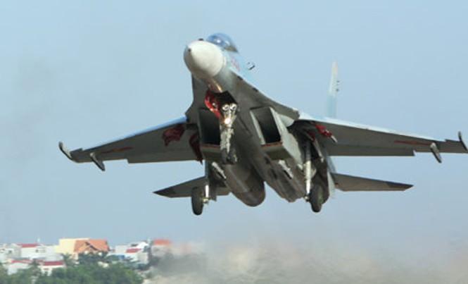 Máy bay Su-30MK2. Ảnh tư liệu.
