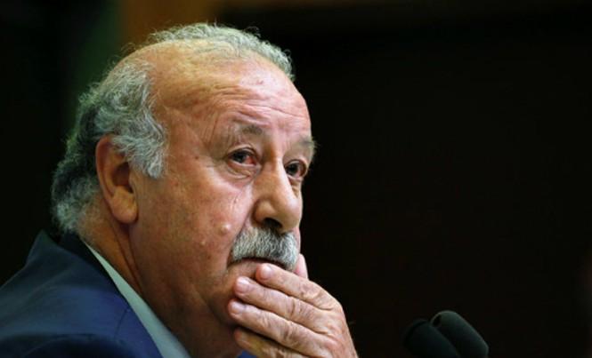 HLV Del Bosque ra đi chỉ một tháng trước khi hợp đồng hết hạn. Ảnh: Reuters.