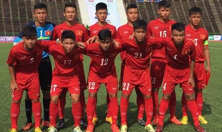 U16 Việt Nam thắng sốc Australia ở giải Đông Nam Á