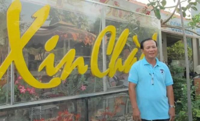 Ông Nguyễn Văn Tấn, chủ quán cà phê Xin Chào.