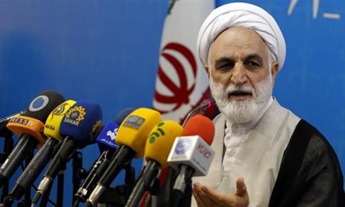 Ông Gholamhossein Mohseni Ejei, người phát ngôn cơ quan tư pháp Iran. Ảnh: AP.