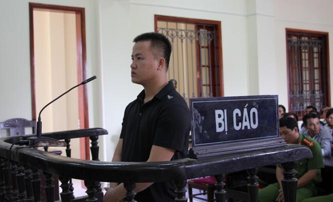 Nguyễn Phú Thắng tại phiên tòa.