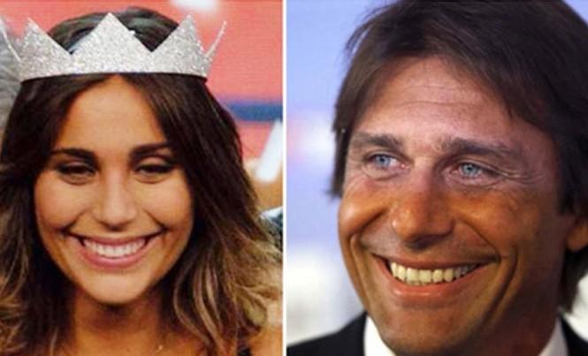 Giật mình vì diện mạo Hoa hậu Italia giống hệt... HLV Conte