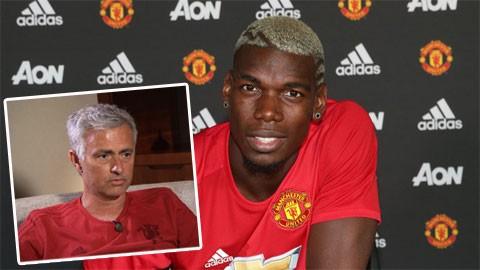 Mourinho bênh Pogba chằm chặp trước tâm bão