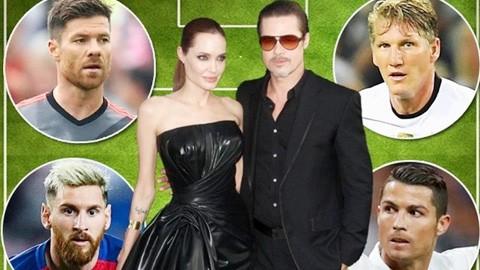 Tổng tài sản của Brad Pitt & Angelina Jolie đủ mua cả Ronaldo lẫn Messi