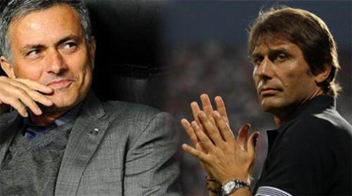 Mourinho và Conte có cuộc đấu trí trực tiếp đầu tiên trên đất Anh.