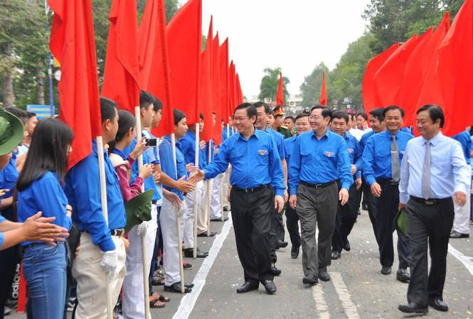 Phó Thủ tướng Vương Đình Huệ tại buổi lễ.