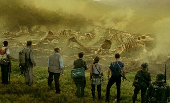 """Cảnh trong phim """"Kong: Đảo đầu lâu""""."""