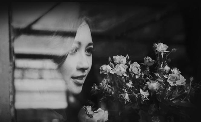 Cận cảnh gương mặt đẹp của Khánh Linh.
