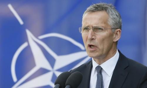 Ông Jens Stoltenberg đổ lỗi cho Nga làm quan hệ xấu đi. Ảnh: Reuters.