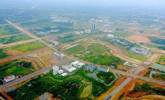 'Siêu' đô thị Hòa Lạc rộng khoảng 17.000ha, chứa 60 vạn dân. Ảnh minh họa.