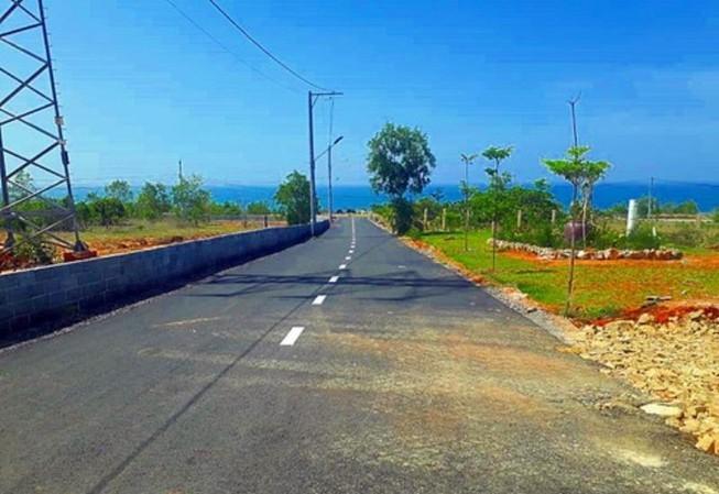 Một khu đất ở TP Phan Thiết.